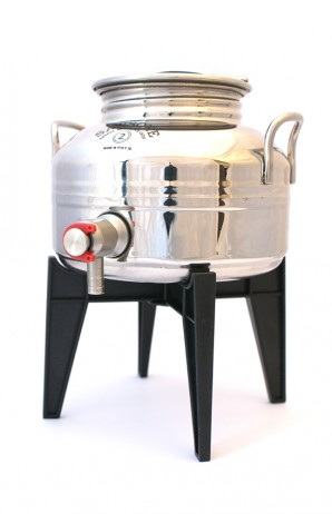 Stainless Steel Fusti - 2-lit capacity - Offer ends 30/OCT/2015