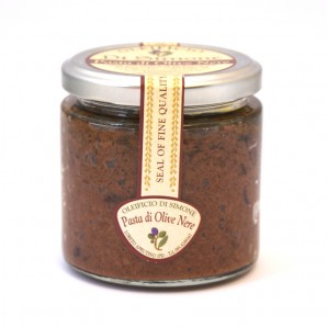 Pasta di Olive Nere (Fresh Black Olive Paste) - 170g