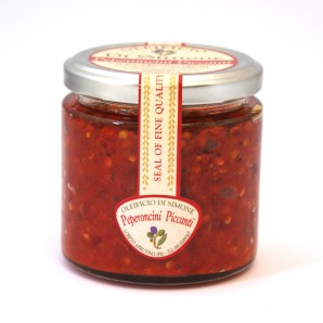 Peperoncini Piccanti  (Chopped Hot Chilli Paste) - 170g