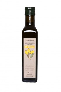 Olio al Limone - extra virgin olive oil with fresh lemon - 250ml - BBE04/2015 - Nil Stock